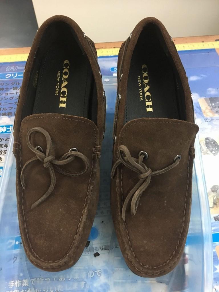 スウェード靴(カビ)