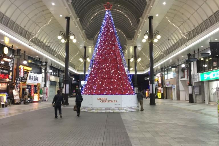 ガレリア竹町 クリスマスツリー
