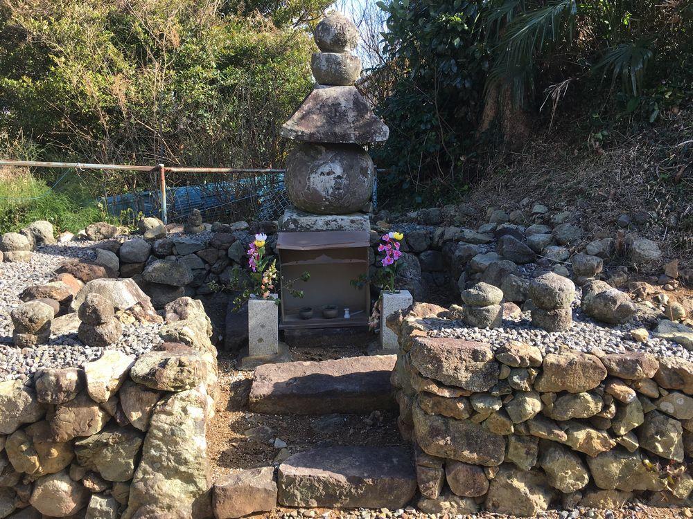 大友頼泰の墓