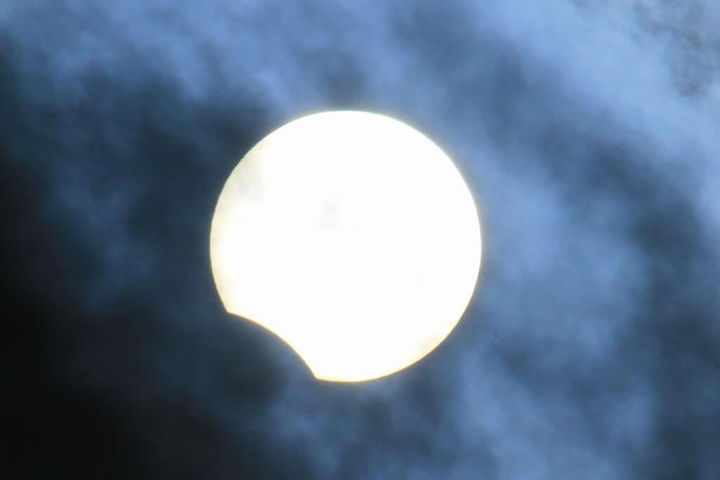 部分日食イメージ
