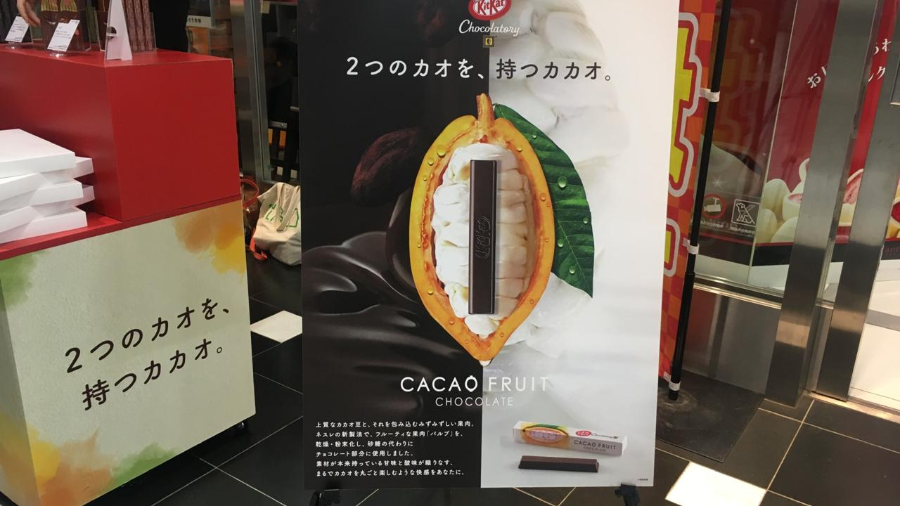 カカオフルーツチョコレート