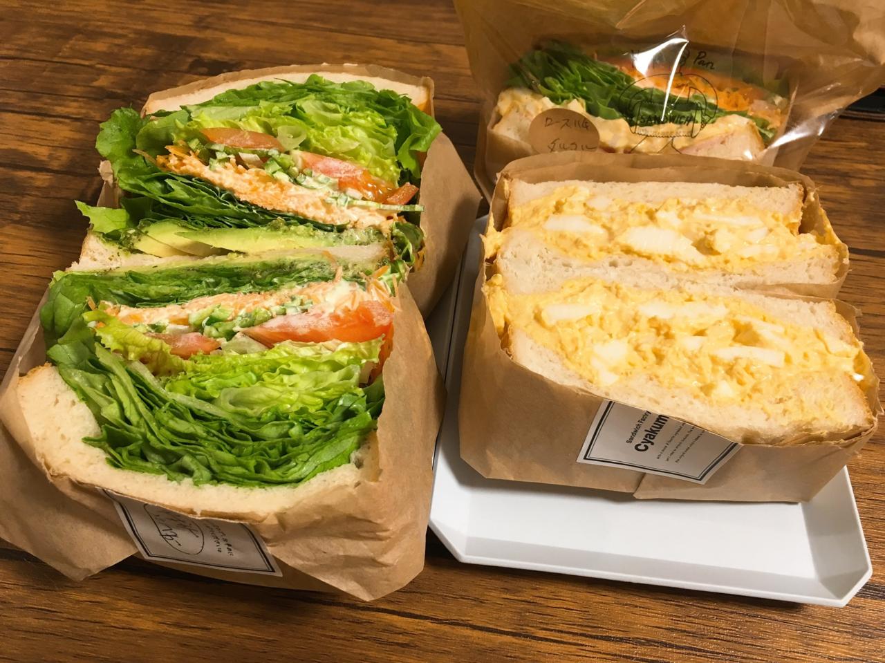 サンドイッチファクトリーチャクミ―のサンドイッチ